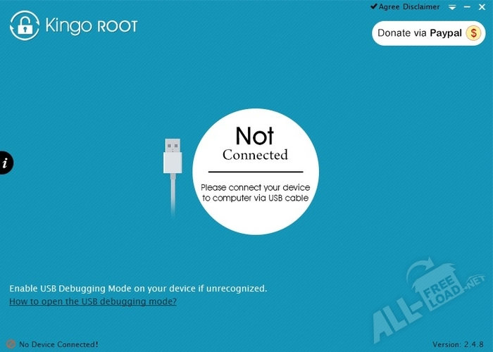 утилита Kingo Android ROOT